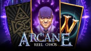 Arcane: Reel Chaos Slot Logo